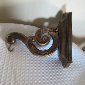 Vintage copper craft hanger  #3494